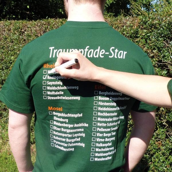 Traumpfade Star-Shirt